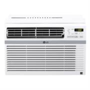Aire Acondicionado LG Tipo Ventana Enfriamiento 8000 BTU/h Temporizador Color Blanco
