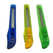 Cutter Plástico Nextep Chico Navaja 9mm Caja con 12