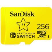 Micro SD SanDisk Nintendo SwitchUHS-I Card 256 GB 100 MB/s Color Amarillo