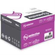 Papel para Copiadora Scribe Selective Carta 99% Blancura 70 gr Caja C/5000 Hojas