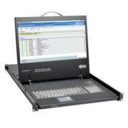 Consola 1U TrippLite para Instalación en Rack con LCD de 19' 1920 x 1080 (1080p) Video DVI o VGA TAA