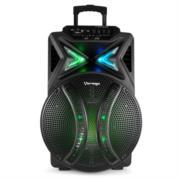 Bafle Vorago KSP-501 15' Bluetooth TWS Recargable Micrófono Color Negro