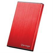 Enclosure Gabinete Vorago HDD-102 para SSD/HDD 2.5' SATA USB 2.0 Color Rojo