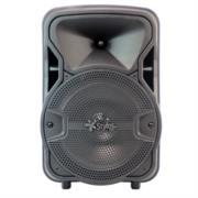 Baffle Stylos 8' Simple Inalámbrico LED USB/TF/Radio FM Color Negro