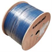 Bobina Cable Intellinet Cat 6a SFTP 305m Sólida Color Azul