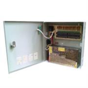 Fuente de Poder Saxxon PSU1220D18 12V CD 20 Amperes Distribuidor para 18 Cámaras