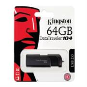 Memoria Usb Kingston Datatraveler 104 64 GB negra