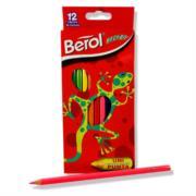 Colores Berol Recreo Largos Unipunta C/12 Pzas