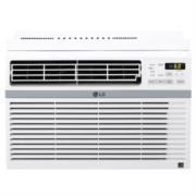 Aire Acondicionado LG Tipo Ventana Enfriamiento 12000 BTU/h Sistema Flujo de Aire/Temporizador Color Blanco