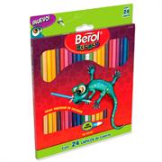 Colores Berol Recreo Largos Unipunta C/24 Pzas