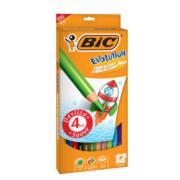 Colores BIC Evolution Largos Mina Gruesa 4mm C/12 Pzas