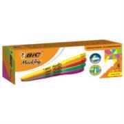 Marcatextos BIC Marking Refresh Colores Surtidos C/6 Pzas