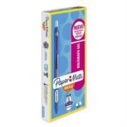 Bolígrafo Papermate Gel Kilometrico Retráctil 0.7mm Color Azul C/6 Pzas