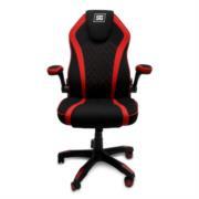 Silla Gamer Vorago Start The Game CGC300 Tela Color Negro-Rojo