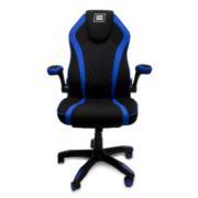 Silla Gamer Vorago Start The Game CGC300 Tela Color Negro-Azul