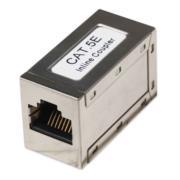 Cople Intellinet Cat5e RJ45 Modular Metálico UTP FTP 8P8C H-H Color Plateado