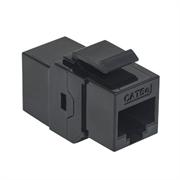 Cople Intellinet Keystone RJ45 Cat5e UTP 8P8C H-H Color Negro