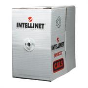 Bobina Cable Intellinet UTP Red Cat5e Rollo Cobre 305m Sólido Color Gris