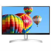 Monitor LG LED 27MK600M 27' FHD Resolución 1920x1080 Panel IPS Color Blanco-Negro