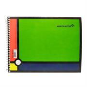 Cuaderno Estrella Espiral Forma Italiana C5 C/100 Hojas