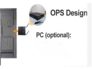 OPS para pantalla interactiva JC touch