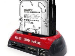 CONVERTIDOR USB A SATA/IDE CLONADOR, CON LECT