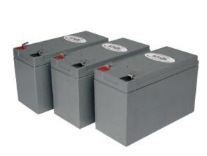 Kit de cartuchos de baterías de reemplazo par