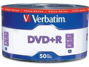 Disco Compacto Dvd+R