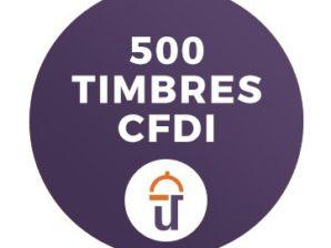 500 Timbres (CFDI)