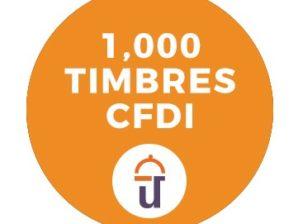 1000 Timbres (CFDI)