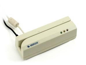 Grabador de ranura de banda magnética