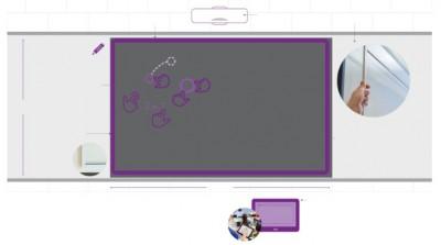 MimioFrame- Kit interactivo para pizarrón