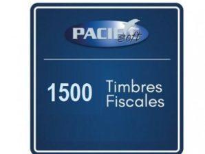 1500 timbres fiscales